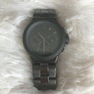 Michael kor's stainless steel watch (men's)
